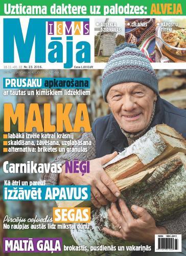 IEVAS MĀJA Nr. 23 2016