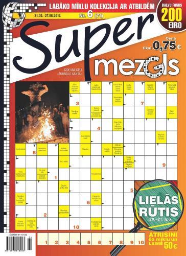 Supermezgls Nr. 6 2017