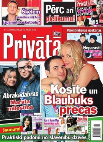 PRIVĀTĀ DZĪVE Nr. 6 2010