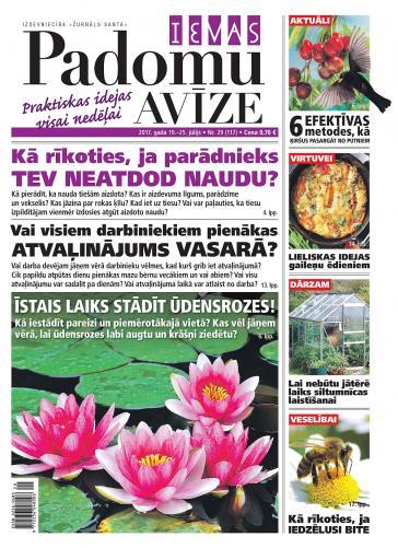 IEVAS PADOMU AVĪZE Nr. 29 2017