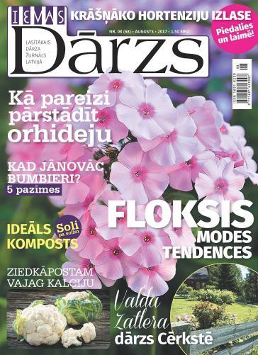 IEVAS DĀRZS Nr. 8 2017