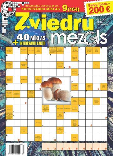 ZVIEDRU MEZGLS Nr. 9 2017