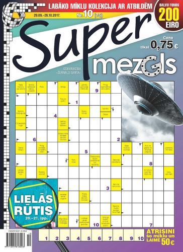 Supermezgls Nr. 10 2017