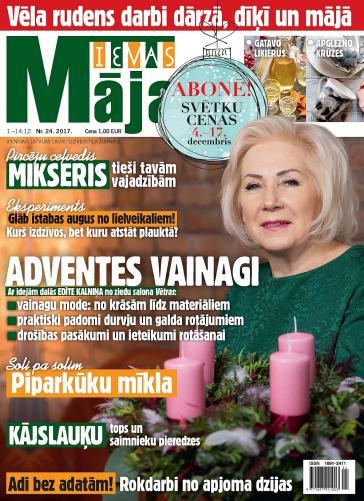 IEVAS MĀJA Nr. 24 2017