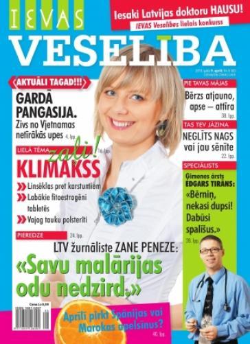 IEVAS VESELĪBA Nr. 8 2010
