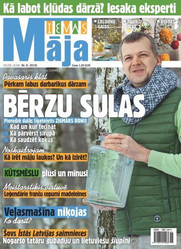IEVAS MĀJA Nr. 6 2018