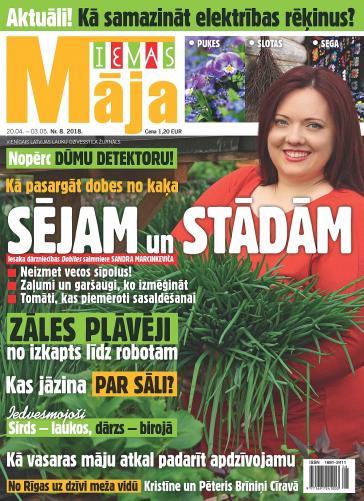 IEVAS MĀJA Nr. 8 2018