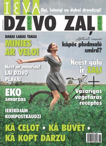 IEVA DZĪVO ZAĻI 01 2018