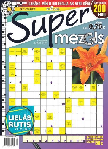 Supermezgls Nr. 8 2018