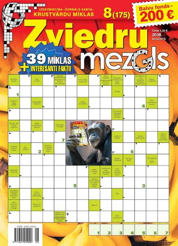 ZVIEDRU MEZGLS Nr. 8 2018