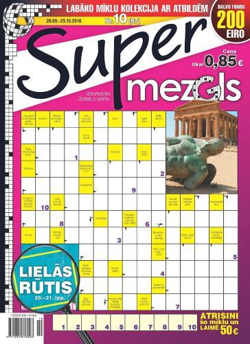 Supermezgls Nr. 10 2018