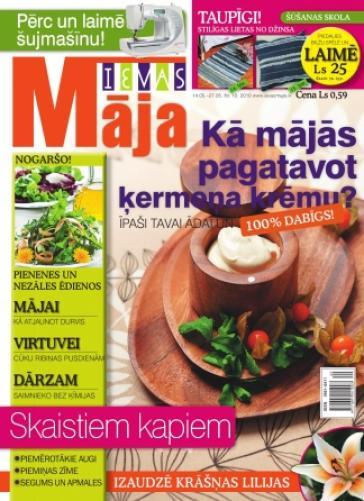 IEVAS MĀJA Nr. 10 2010
