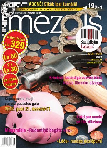 MEZGLS Nr. 19 2009