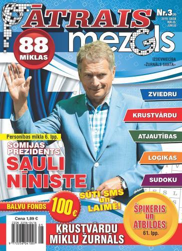 ĀTRAIS MEZGLS Nr. 3 2019