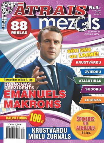 ĀTRAIS MEZGLS Nr. 4 2019