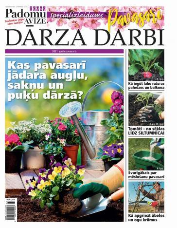 PAVASARA DARBI DĀRZĀ 2021