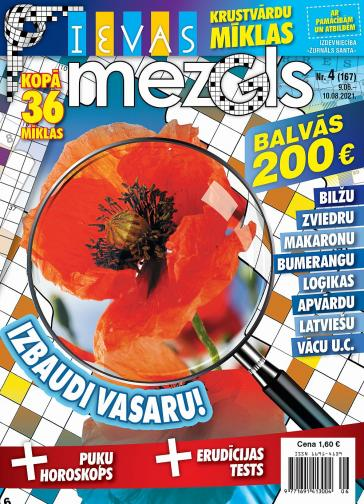 IEVAS MEZGLS Nr. 4 2021