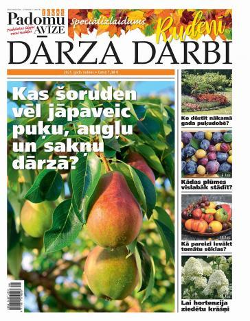 RUDENS DARBI DĀRZĀ 2021