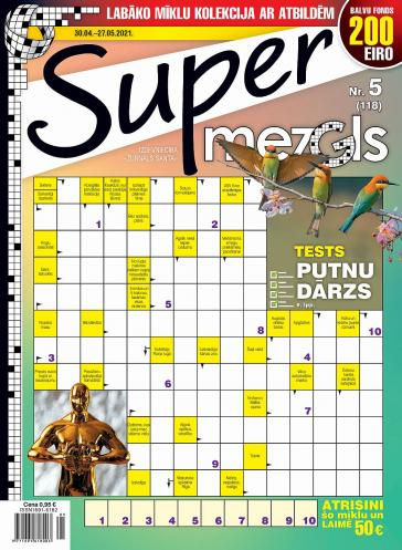 Supermezgls Nr. 5 2021