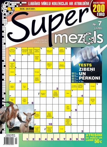 Supermezgls Nr. 7 2021