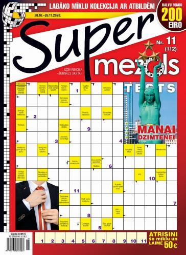 Supermezgls Nr. 11 2020