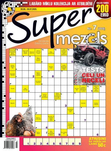 Supermezgls Nr. 7 2020