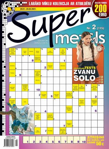 Supermezgls Nr. 2 2021