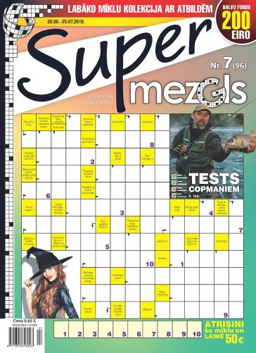 Supermezgls Nr. 7 2019