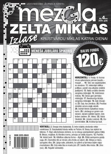MEZGLA ZELTA MĪKLAS Nr. 4 2020