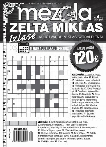 MEZGLA ZELTA MĪKLAS Nr. 4 2021