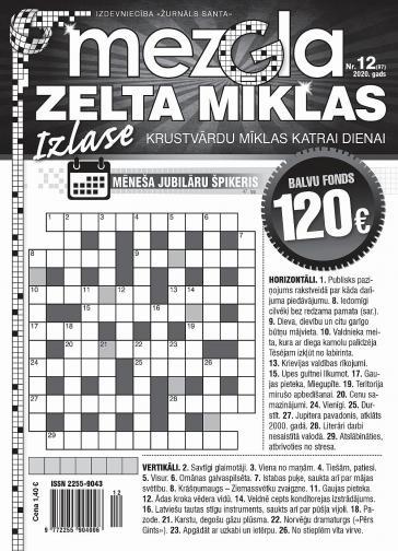 MEZGLA ZELTA MĪKLAS Nr. 12 2020