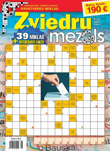 ZVIEDRU MEZGLS Nr. 6 2021