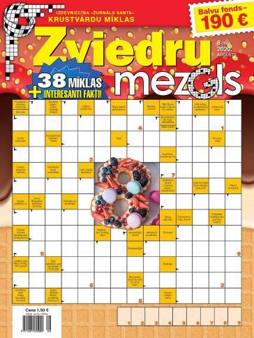 ZVIEDRU MEZGLS Nr. 8 2020