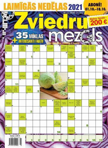 ZVIEDRU MEZGLS Nr. 10 2020