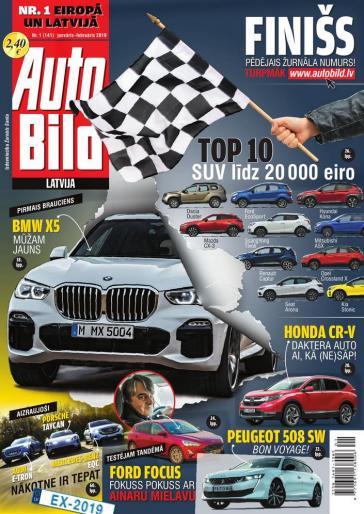 AUTO BILD LATVIJA Nr. 1 2019
