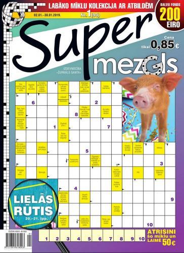 Supermezgls Nr. 1 2019